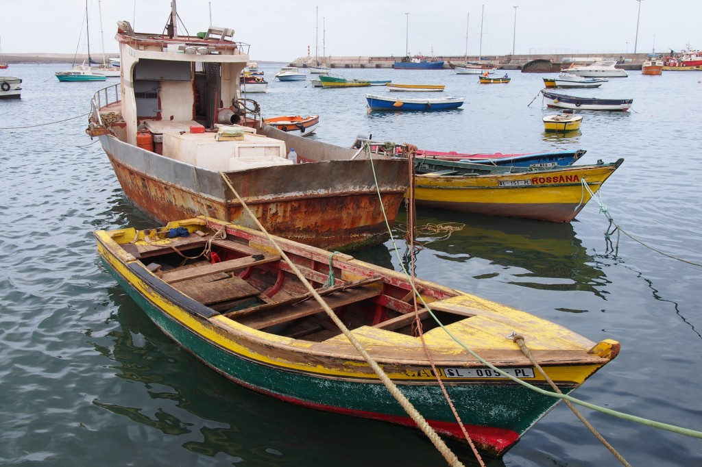 Cape Verde, Sal boats