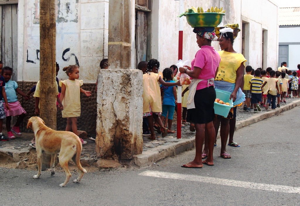 Cape Verde, Sal school kids