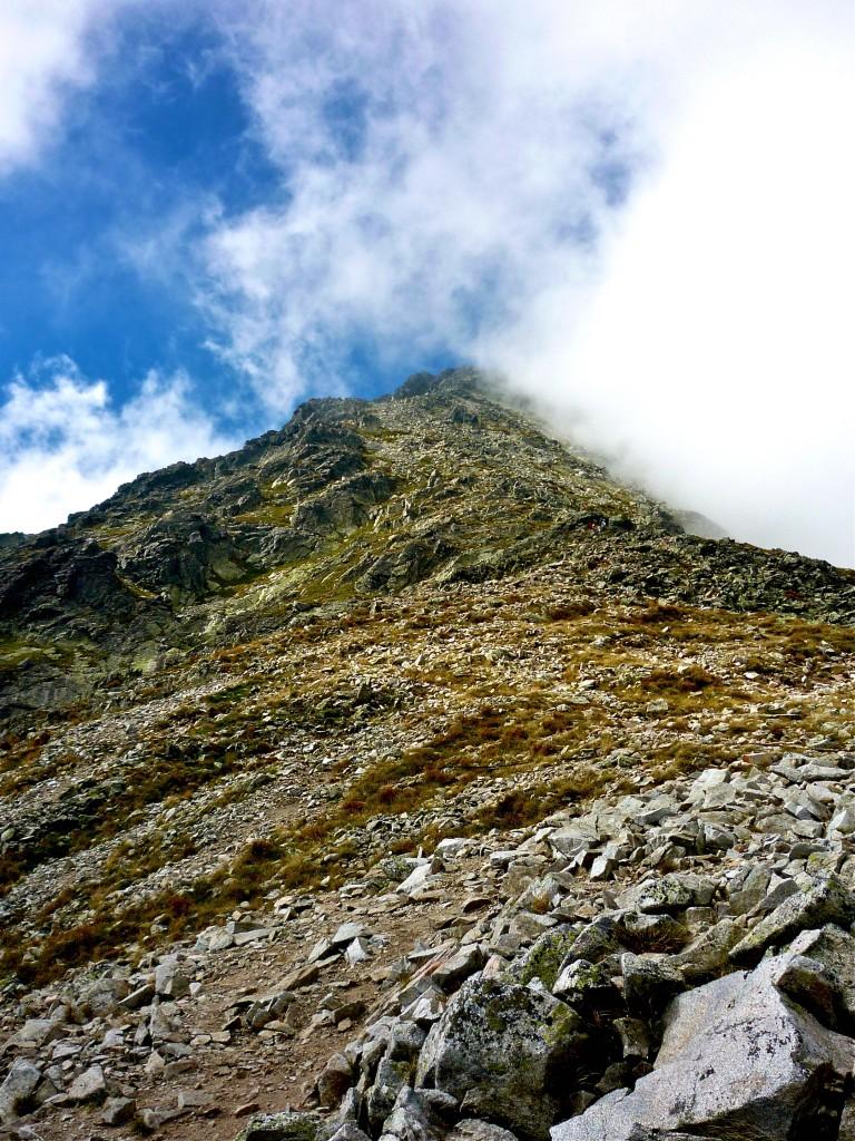 mountain of rocks